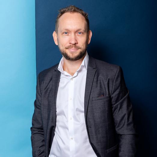 Andreas Fridell, Chief Commercial Officer (Nordic B2B) och Chief Operating Officer